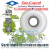 Sun Central Continental CPPH60 Melt Blown Cartridge Filter Absolute Micron Filter Cartridge Filter Indonesia  medium