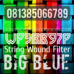 d d Pentek Big Blue String Wound Filter Cartridge Indonesia  large
